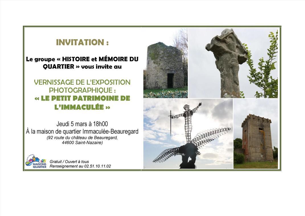 Vernissage Exposition Histoire et Mémoire