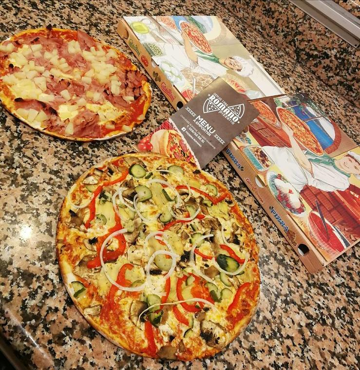 Pizza-romano