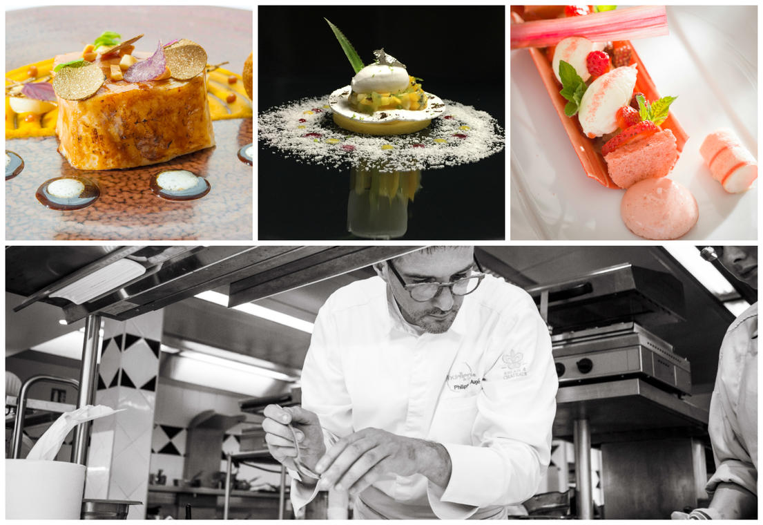 Collage resto chef
