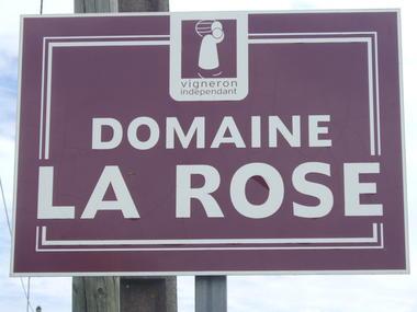 Panneau © Domaine la Rose.JPG