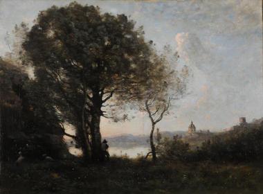 Jean-Baptiste Camille Corot (1796-1875), Souvenir du lac d'Albano © MBA Reims 2016, Photo Christian Devleeschauwer.jpg