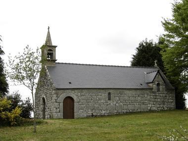 Chapelle St Georges - Meslan - Pays roi Morvan - Morbihan Bretagne sud - CP OTPRM (19).JPG