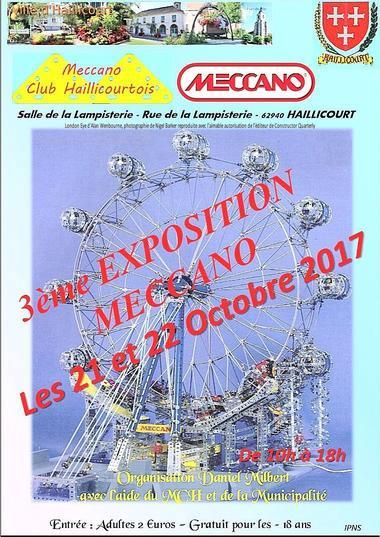 Exposition Meccano - Haillicourt