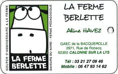 Découverte de la ferme au travers des 5 sens - Ferme Berlette - calonne-sur-la-Lys