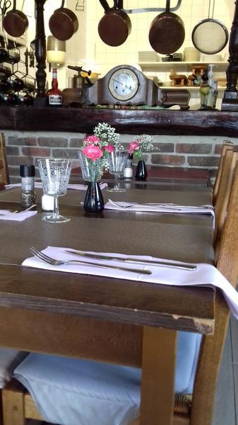 Le Chancel - Condé sur Escaut-  Restaurant - Présentation Table (1) - 2018.jpg