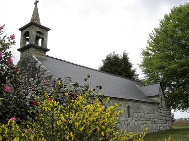 Chapelle St Georges - Meslan - Pays roi Morvan - Morbihan Bretagne sud - CP OTPRM (11).JPG