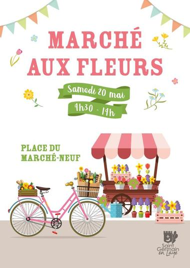 March Aux Fleurs Saint Germain En Laye Saint Germain