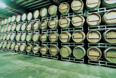 12 Le grand chai a barriques dans la cave vieille.jpg