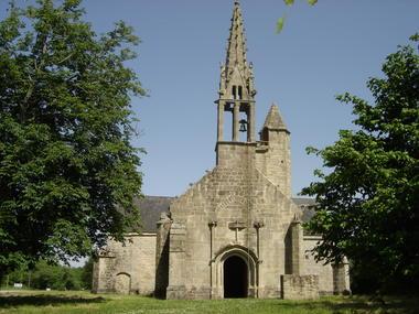 Chapelle St Nicolas - Priziac - Pays roi Morvan - Morbihan Bretagne sud.JPG