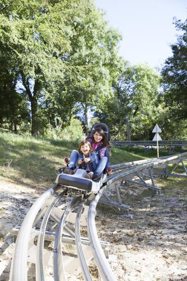La luge 4 saisons - Parc d'Olhain © Brigitte Baudesson