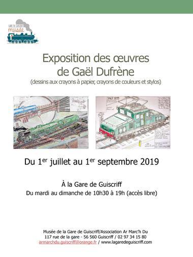01.07.19 - 01.09.19 - Affiche exposition de dessins de Gael Dufrene.jpg