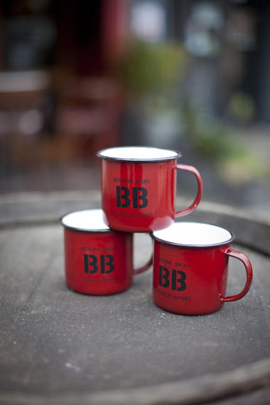 Boutique BB Shop - Mug métal (8,90€)
