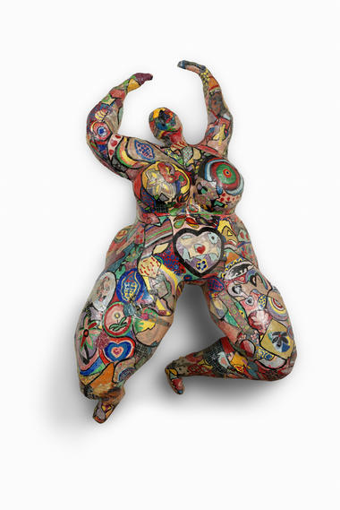 Niki de Saint Phalle, Lili ou Tony, 1965 © 2018 NIKI CHARITABLE ART FOUNDATION, All rights reserved.  Photo : © André Morin / Courtesy Galerie GP & N Vallois, Paris