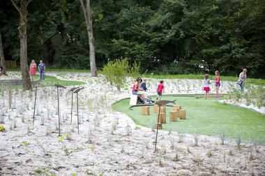 Golf minitature du parc d'Olhain © Brigitte Baudesson