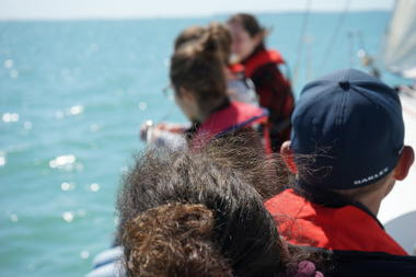naviguer entre les îles charentaises