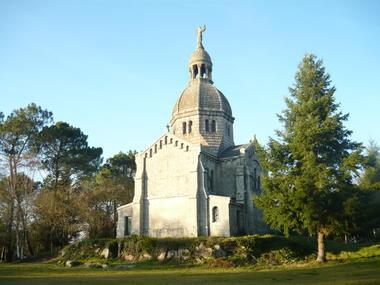 Chapelle du Sacré-Coeur - Berné - Pays roi Morvan - Morbihan Bretagne sud - CP OTPRM (55).JPG