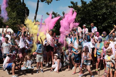 animation color run
