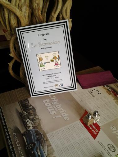 La Sarrazine - Valenciennes -  Restaurant - Carte (1) - 2018.jpg