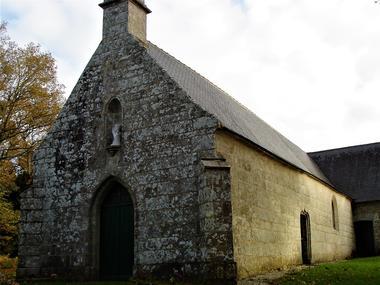 Chapelle de Locmaria - Guiscriff -  Pays roi Morvan - Morbihan Bretagne sud - CP OTPRM (8).JPG