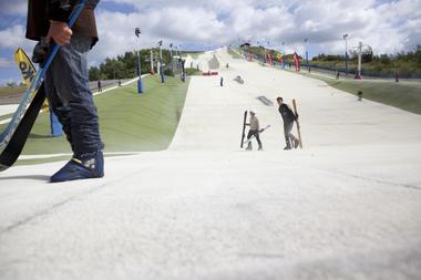 Stade de glisse - Base Loisinord - Noeux-Les-Mines © Brigitte Baudesson