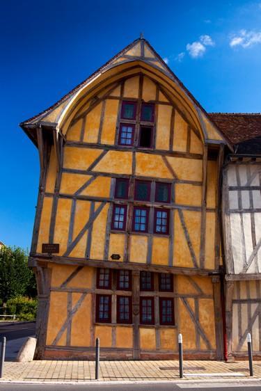 Rue Kleber Maison à pan de bois © Olivier Gobert - Troyes Champagne Tourisme
