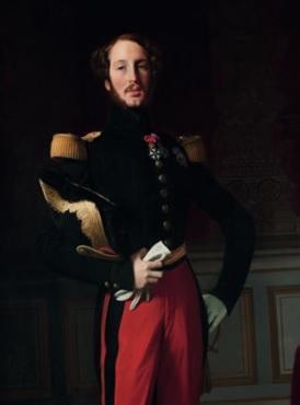 Jean-Auguste-Dominique Ingres (1780-18767) Portrait de Ferdinand-Philippe d'Orléans (1810-1842), 1842 © musée du Louvre, Dist. RMN-Grand Palais / Angèle Dequier