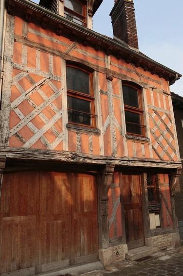 Maison pans de bois F GENTIL © D. Le Névé - Troyes Champagne Tourisme.