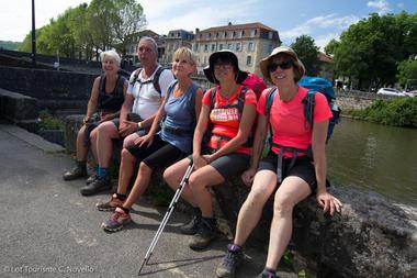 Pélerins à Figeac--© Lot Tourisme C. Novello.jpg