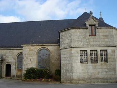 Eglise de Guiscriff - Guiscriff - Pays roi Morvan - Morbihan Bretagne sud - CP OTPRM (42).JPG