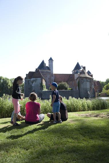 Château d'Olhain © Brigitte Beaudesson