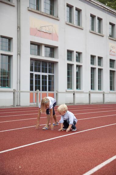 Piste d'Athlétisme - Stade-Parc de Bruay-La-Buissière © Brigitte Baudesson