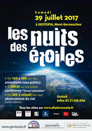 La nuit des étoiles - Géotopia - Mont-Bernanchon