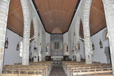 intérieur - chapelle de la Vierge - Gourin - ©OTPRM (1).JPG