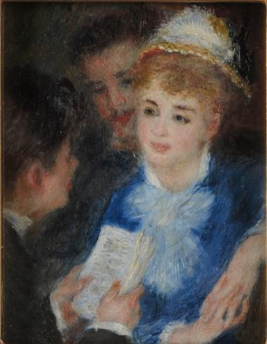 Auguste Renoir (1841-1919), La Lecture du rôle, vers 1876-1877 © MBA Reims 2016, Photo Christian Devleeschauwer.JPG