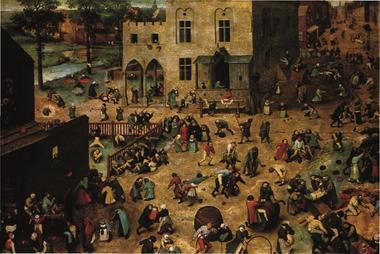 Escal Creusille Les jeux d'enfants de Pieter  Bruegel.jpg