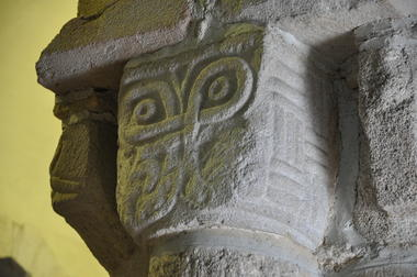Eglise - Priziac - intérieur - Pays roi Morvan - Morbihan Bretagne sud - CP OTPRM (27).JPG