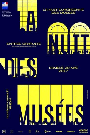 Visuel officiel de la Nuit des musées  © Zoo
