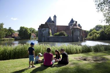 Château d'Olhain - @ Brigitte Beaudesson