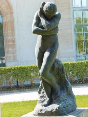 Auguste Rodin (1840-1917) Ève au rocher, grand modèle, 1907 © agence photographique du musée Rodin - Jérome Manoukian