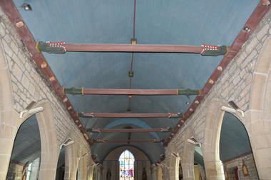 Eglise de Meslan - Sablières -  Pays roi Morvan - Morbihan Bretagne sud.JPG