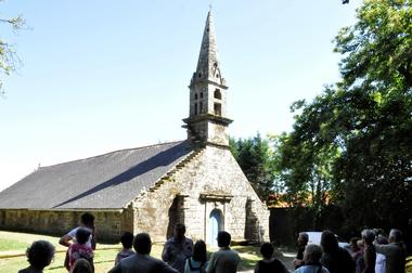 VG lande et chapelle de Lochrist - Ploërdut - Morbihan Bretagne Sud - CP OTPRM (14).JPG
