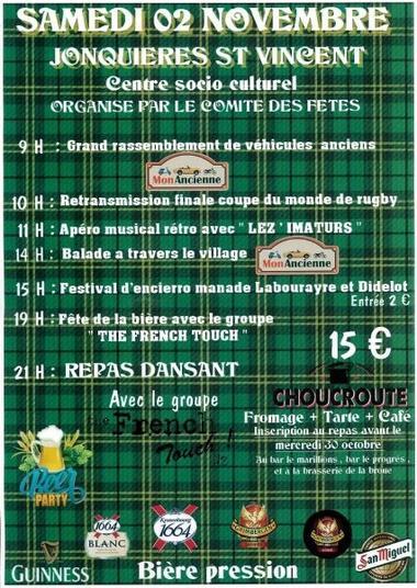 Fête de la Bière à Jonquières St Vincent le 2 novembre.JPG