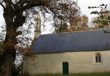 Chapelle de Locmaria - Guiscriff -  Pays roi Morvan - Morbihan Bretagne sud - CP OTPRM (2).JPG
