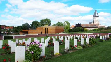 Le Pheasant Wood Military Cemetery © Musée de la Bataille de Fromelles