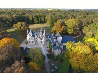 Chateau du Breuil - Vue du ciel 1.JPG