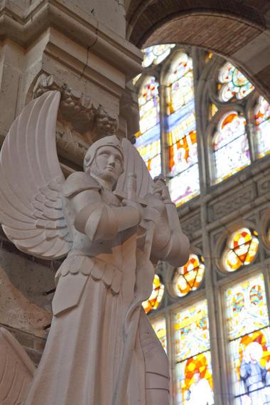Saint-Michel de l'Église Saint-Vaast de Béthune © Brigitte Baudesson