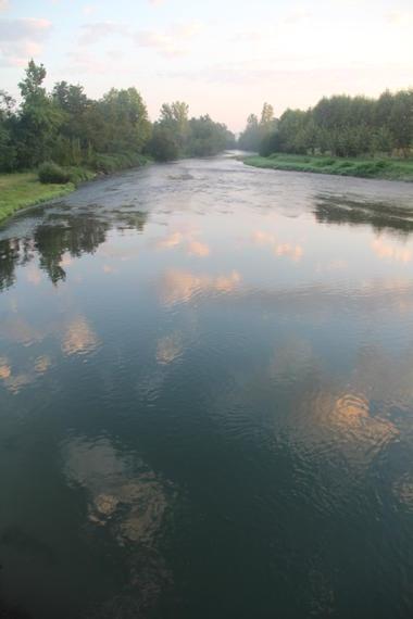 2. l'Adour au lever du soleil.JPG