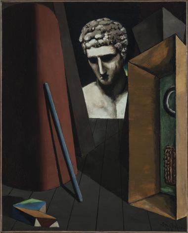 Giorgio de Chirico, M+®lancolie herm+®tique, 1919.jpg