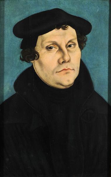 Portrait de Lucas Cranach the Elder, Lucas Müller, Lucas Sunder, Cranach Digital Archive