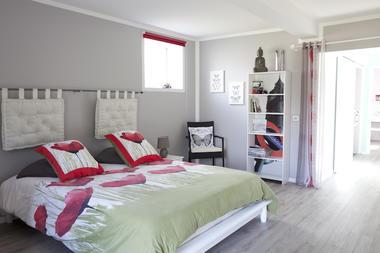 Chambre - La Ferme des Saules - Richebourg © Brigitte BAUDESSON